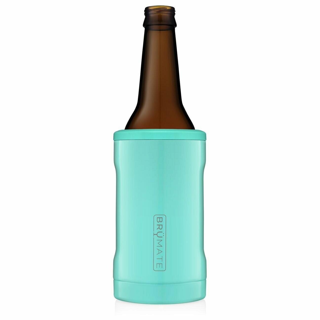 BruMate Hopsulator Insulated Bottle AQUA