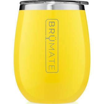 BruMate Uncork'd XL 14oz Wine Tumbler PINEAPPLE