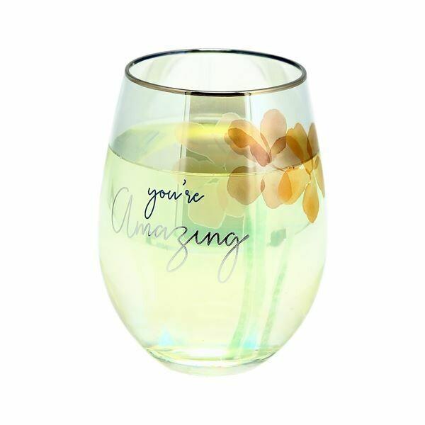 Pavilion Stemless Wine Glass 18oz AMAZING