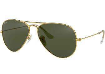 Ray Ban Aviator Classic Polarized GOLD/GREEN
