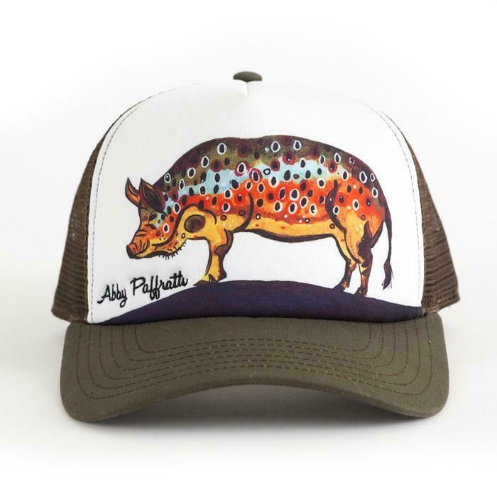 Art 4 All Hog Trucker Hat BROWN