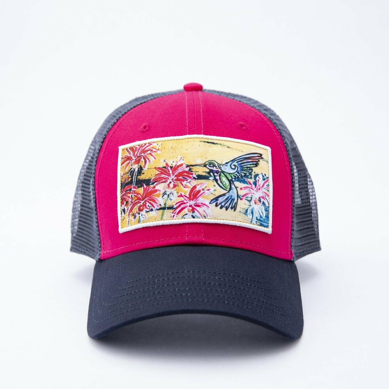 Art 4 All Hummingbird Trucker Hat PINK