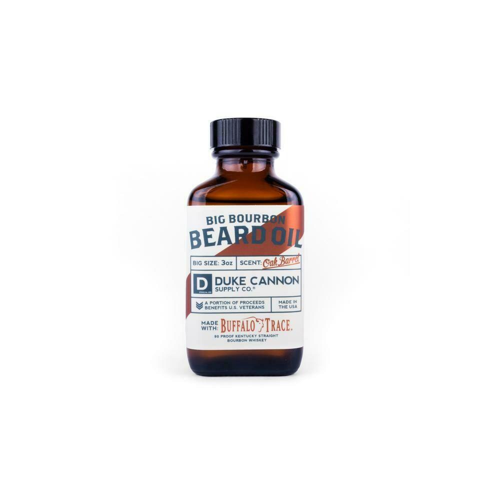 Duke Cannon Big Bourbon Beard Oil OAK BARREL