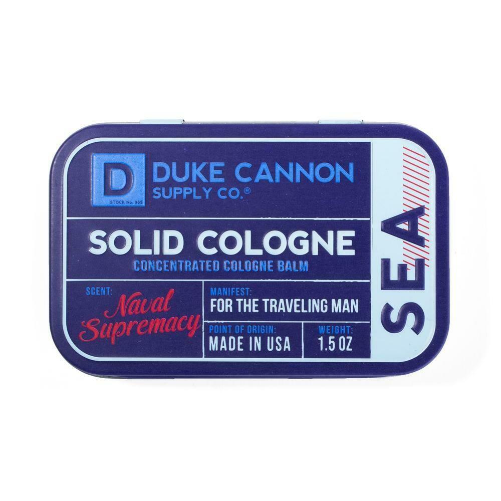 Duke Cannon Solid Cologne NAVAL SUPREMACY