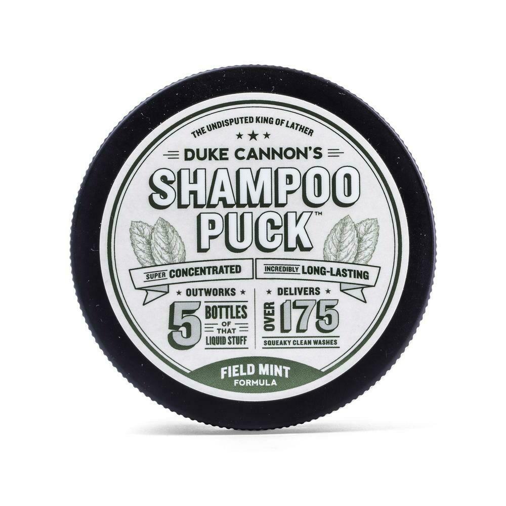 Duke Cannon Shampoo Puck FIELD MINT