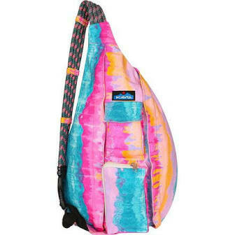 KAVU Rope Bag SURF TIE DYE