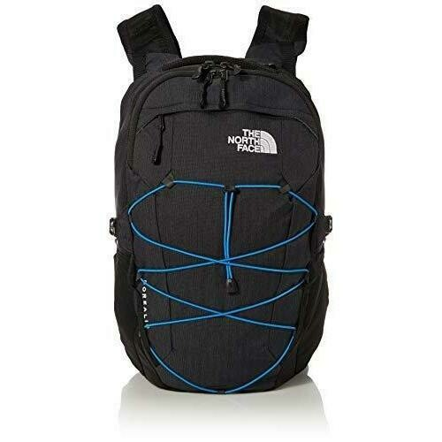 The North Face Borealis Backpack 28L TNF BLK HTR / CLEAR LAKE BLUE
