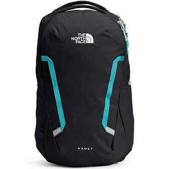 The North Face W Vault Backpack TNF BLACK / MAUI BLUE