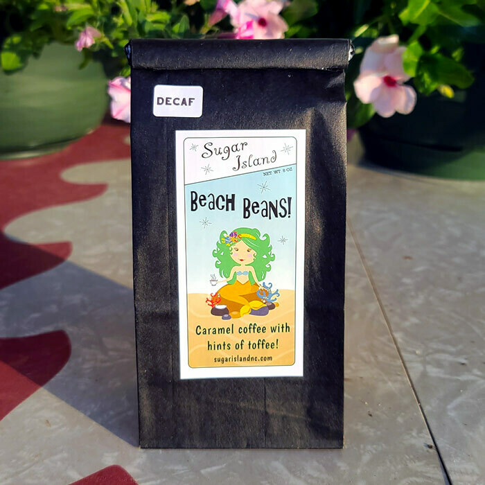 Sugar Island Beach Beans Ground Coffee DECAF