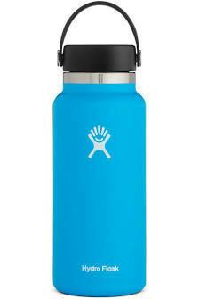 Hydro Flask 32 oz Wide Mouth w/Flex Cap PACIFIC BLUE