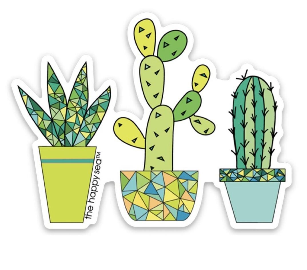 """The Happy Sea 3"""" Succulent Sticker"""