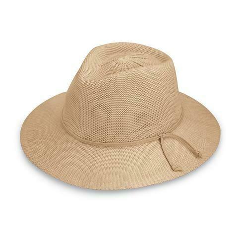 Wallaroo Hats Victoria Fedora TAN