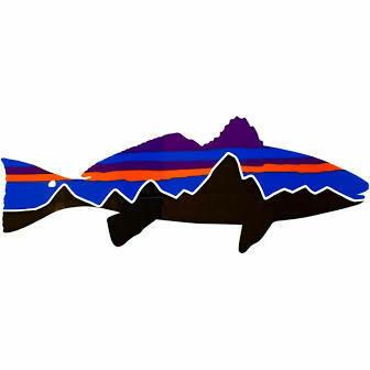 Patagonia Sticker: Redfish Large