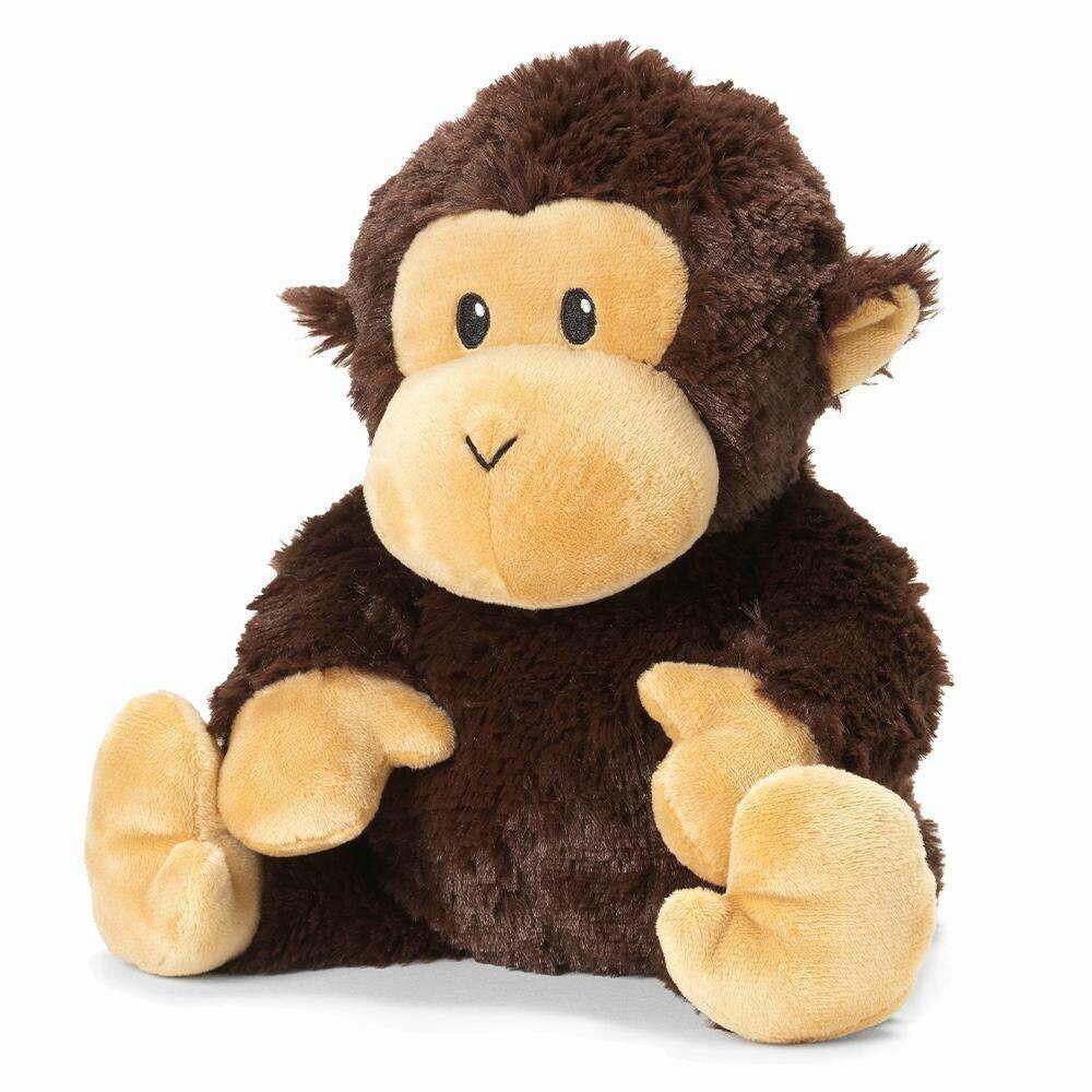 Warmies Chimp BROWN