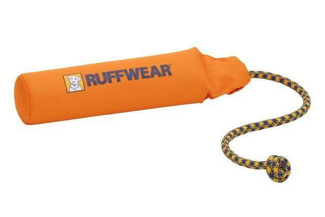 Ruffwear Lunker Toy CAMPFIRE ORANGE