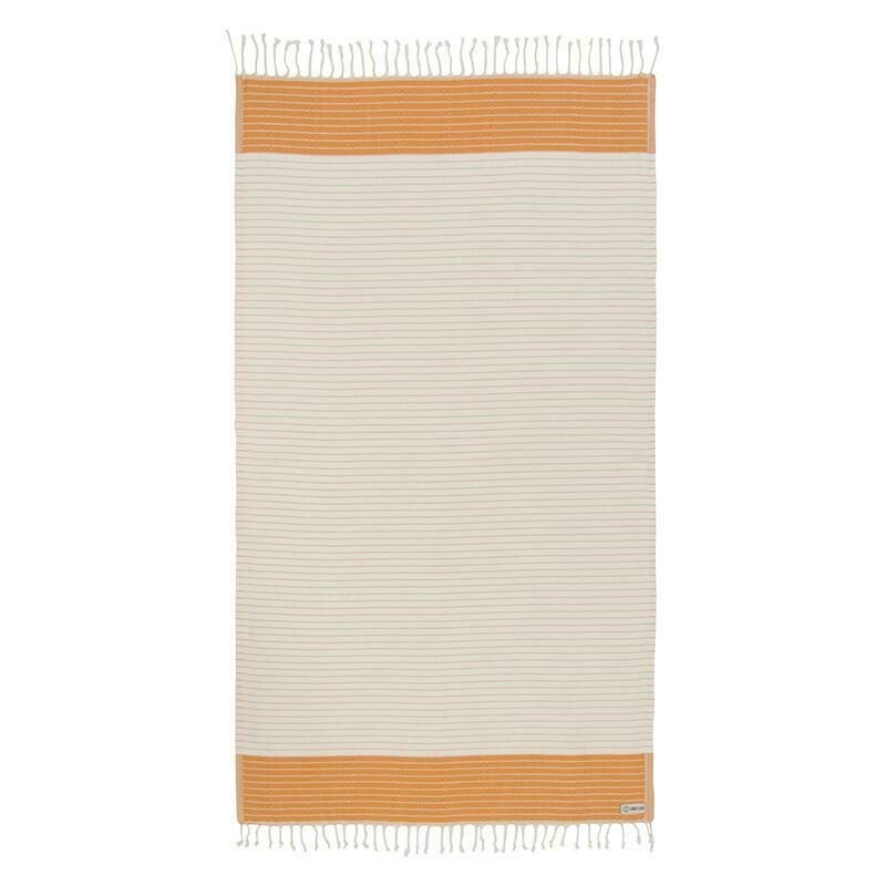 Sand Cloud Microstripe Diamond Dobby Towel HONEY