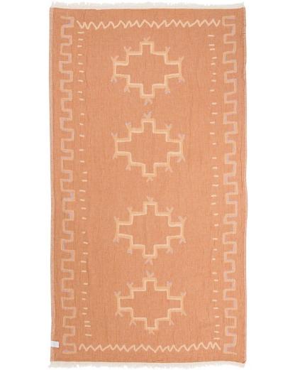 Sand Cloud Stamped Moroccan Towel HONEY