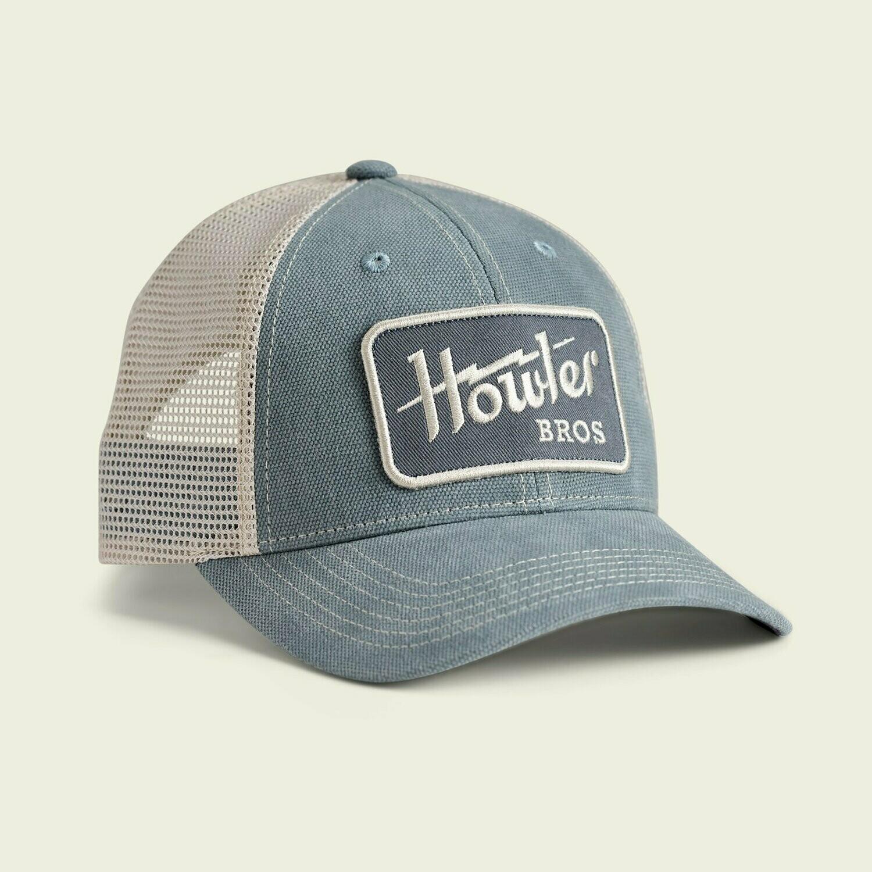 Howler Bros Standard Trucker Hat Howler Electric SLATE BLUE / STONE