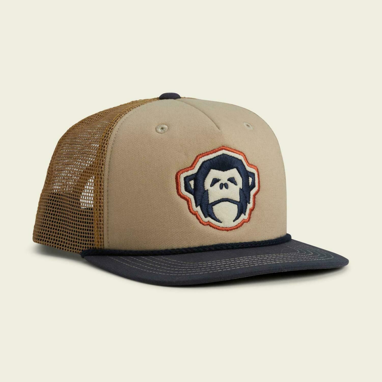 Howler Bros SnapBack Trucker Hat El Mono STONE / GOLD / NAVY