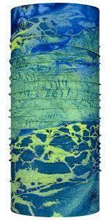 Buff CoolNet UV+ Real Tree WAV3 BLUE YELLOW