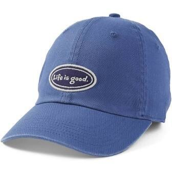 Life is good Chill Cap LIG Oval VINTAGE BLUE