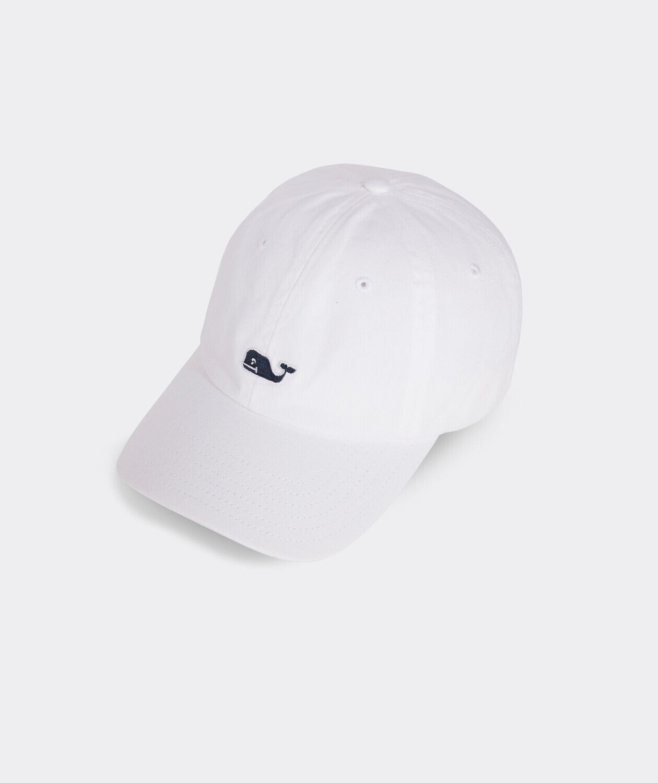 Vineyard Vines New Classic Logo Baseball Cap WHITECAP