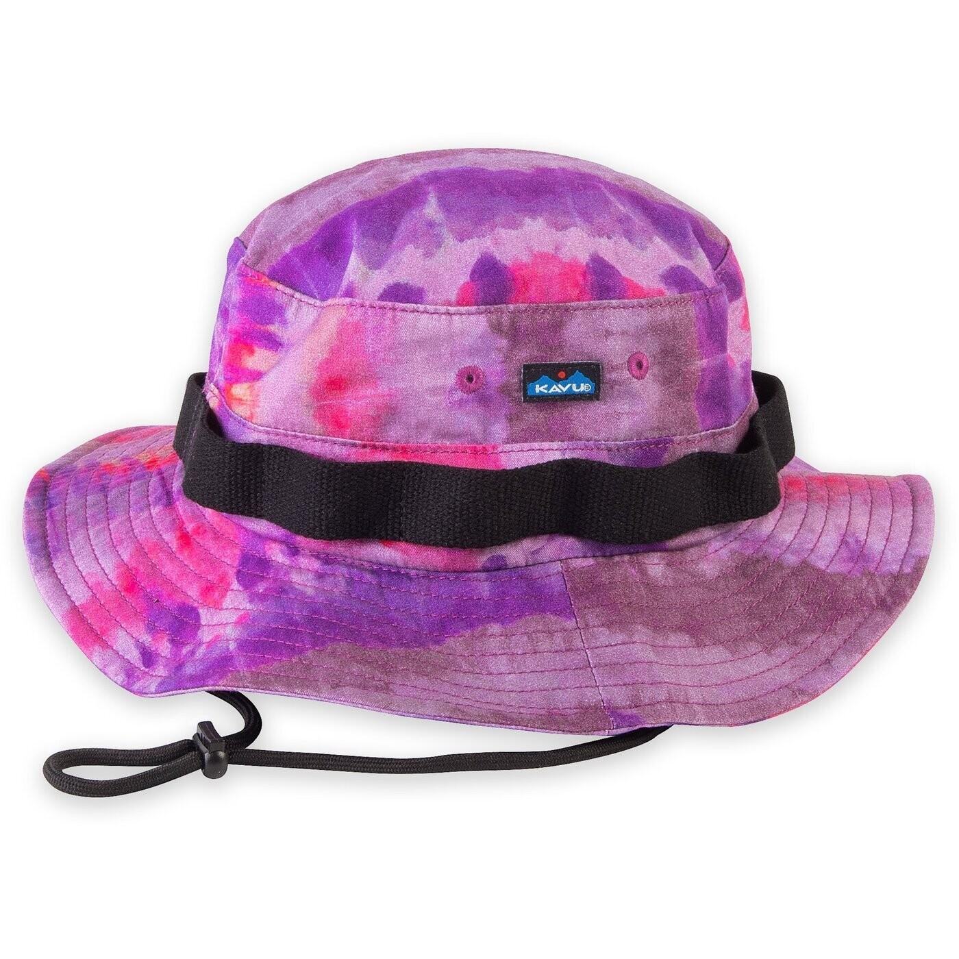 KAVU Onshore Rad Tye Dye Bucket Hat