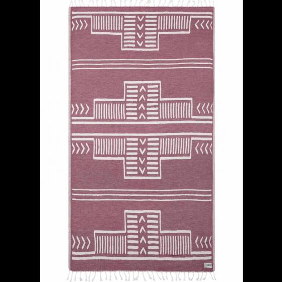 Sand Cloud Aura Towel BURGUNDY
