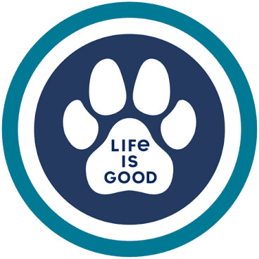Life is good Magnet Paw Coin NAVY