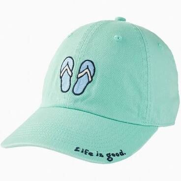 Life is good Chill Cap Vintage Flip Flops SPEARMINT