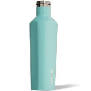 Corkcicle 16oz Canteen GLOSS TURQUOISE