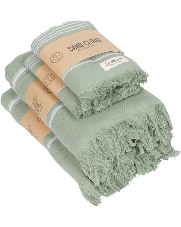 Sand Cloud Classic Bath Bundle 4 Pack GREEN