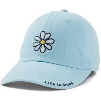 Life is Good Chill Cap Vintage Daisy BEACH BLUE