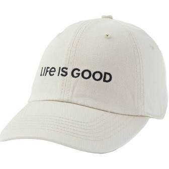 Life is good Chill Cap LIG Wordmark Horizon BONE