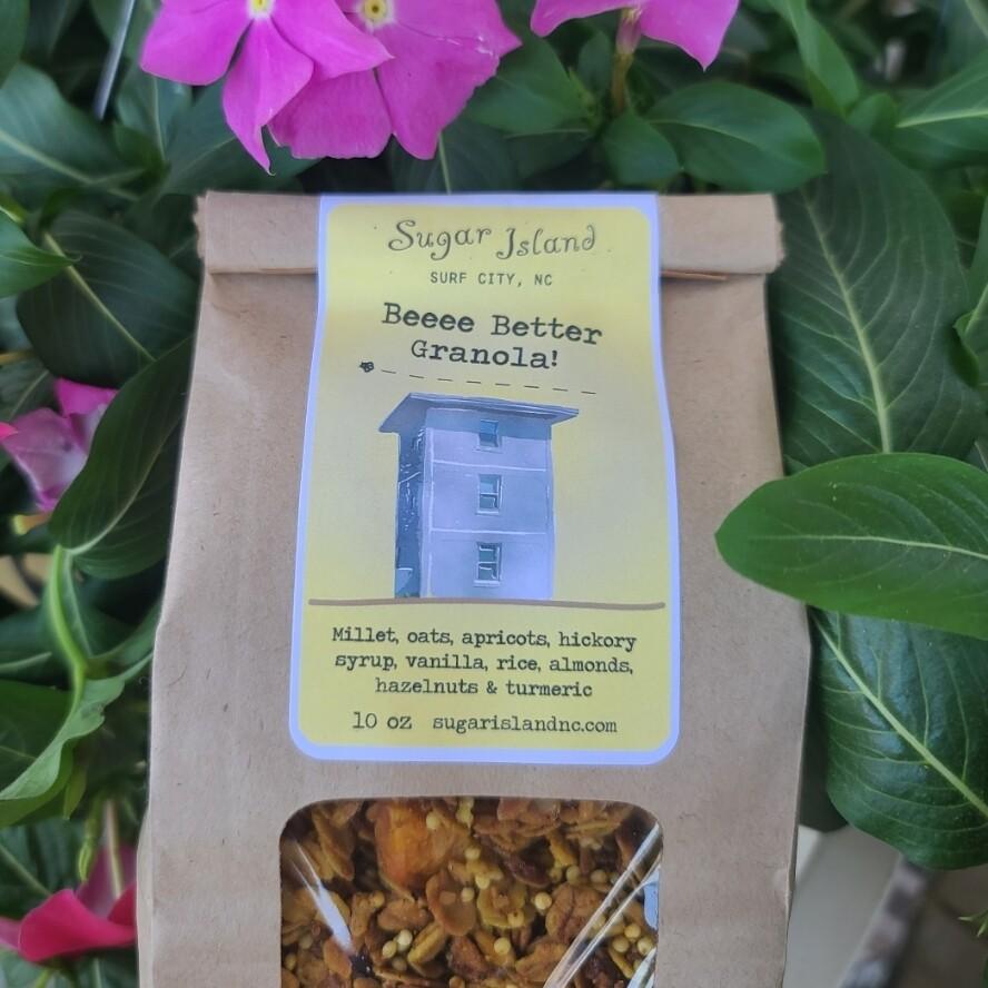 Sugar Island Granola BEEEE BETTER