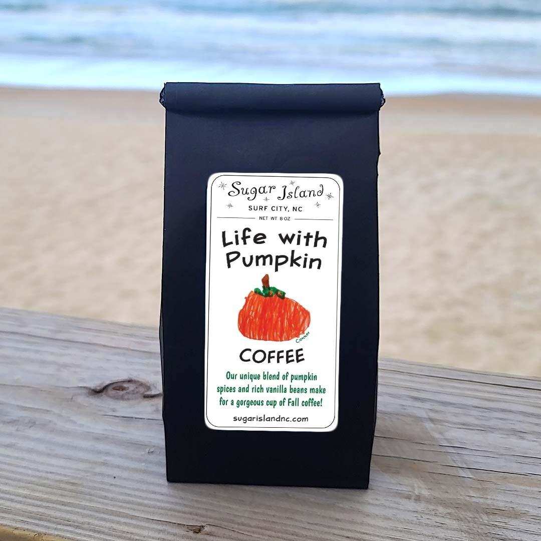 Sugar Island Life with Pumpkin Ground Coffee DECAF