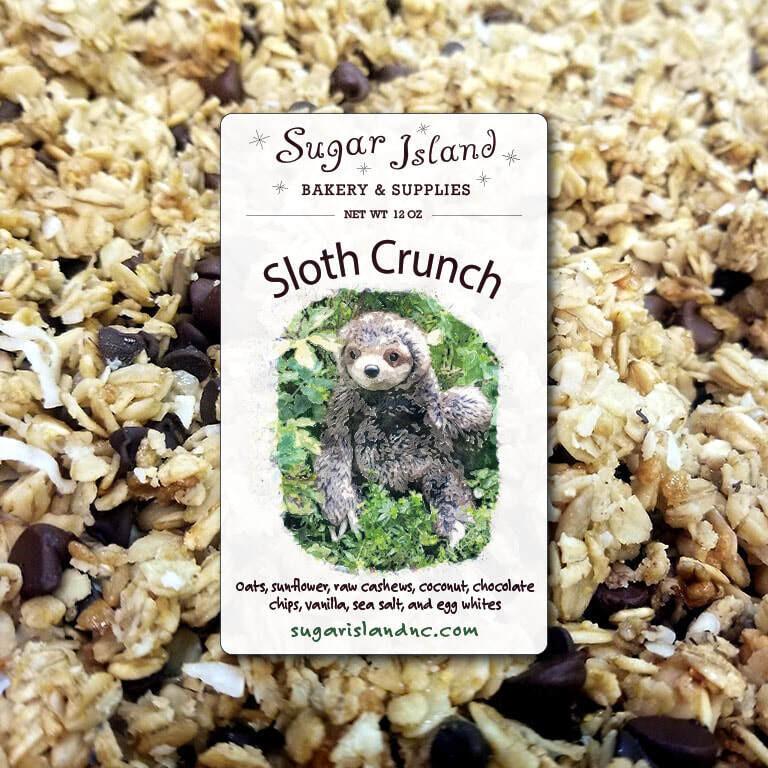 Sugar Island Granola SLOTH CRUNCH