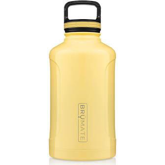 BruMate Growl'r Insulated Bottle 64 oz DAISY