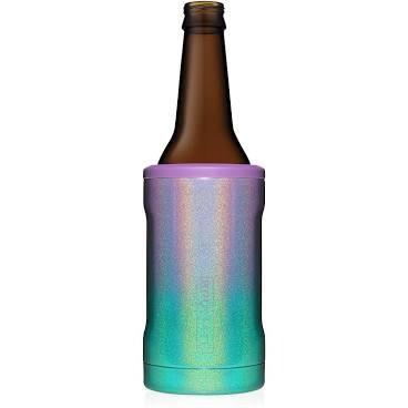 BruMate Hopsulator Insulated Bottle Cooler GLITTER MERMAID