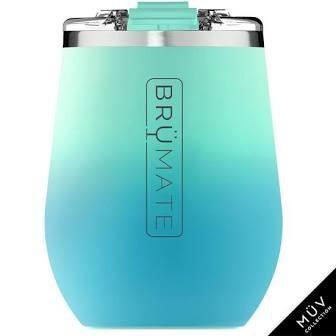 BruMate Uncork'd XL 14oz Wine Tumbler SEAGLASS