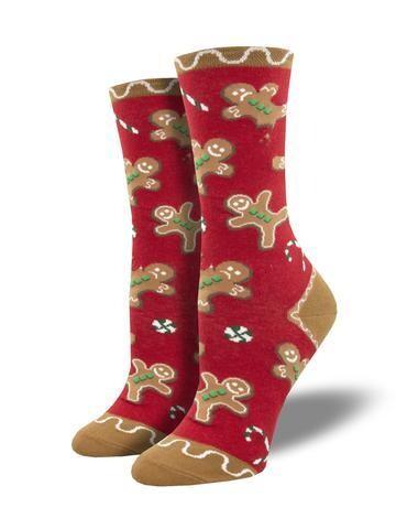 Socksmith W Christmas Goodie Gumdrops RED