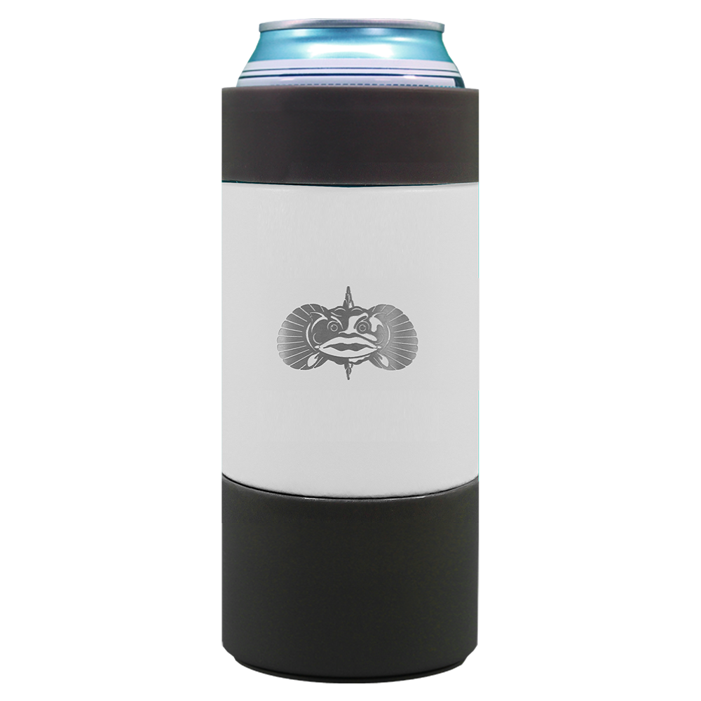 Toadfish Non Tipping Can Cooler 1050 16oz WHITE