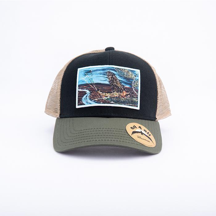 Art 4 All Drake Trucker BLACK/OLIVE