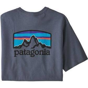 Patagonia M SS Fitz Roy Horizons PLUME GRAY