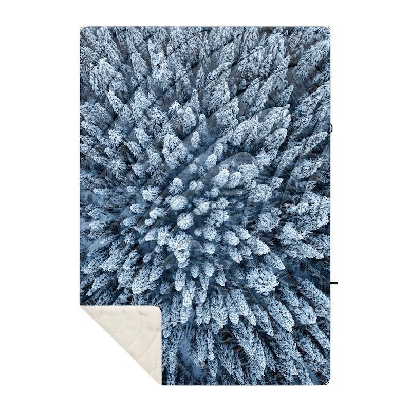 Rumple Sherpa Puffy Blanket COLD GROWTH