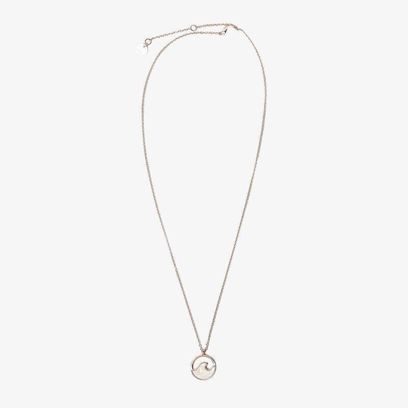 Pura Vida Stone Wave Necklace ROSE GOLD
