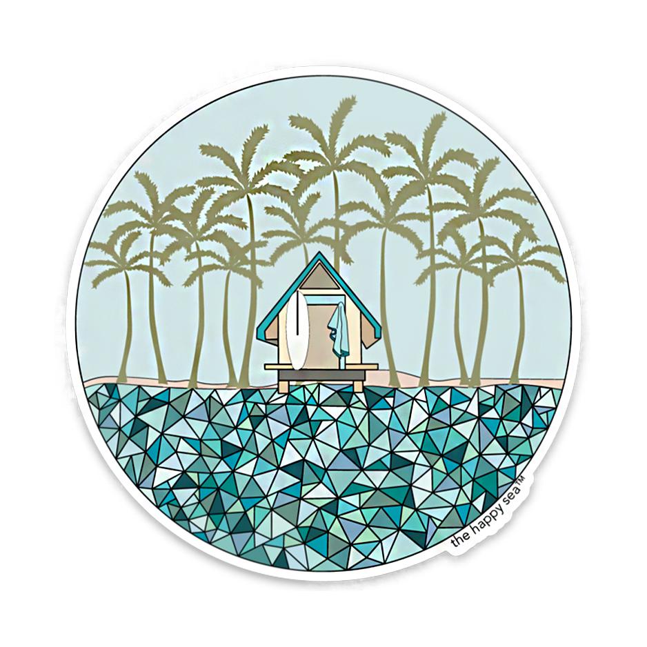 """The Happy Sea 4"""" Adventure More Sticker"""