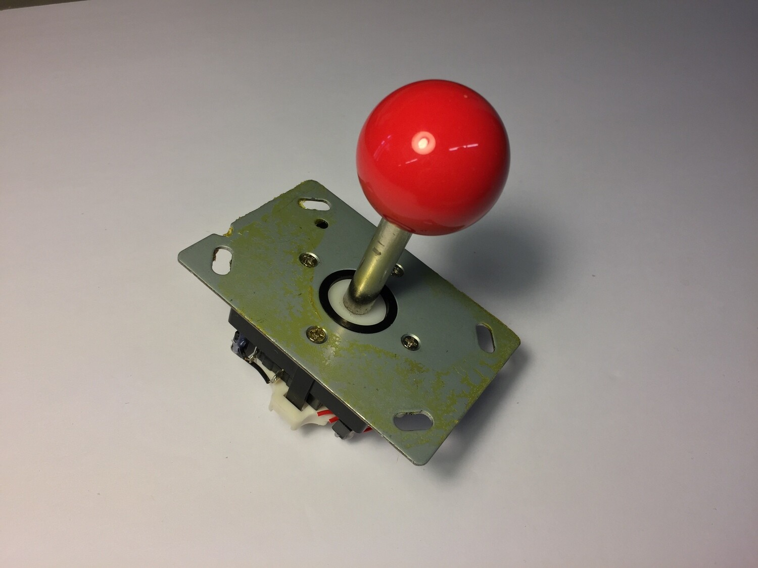 Standard A1UP Pac-Man Joystick with Red Ball top - GOOD CONDITION