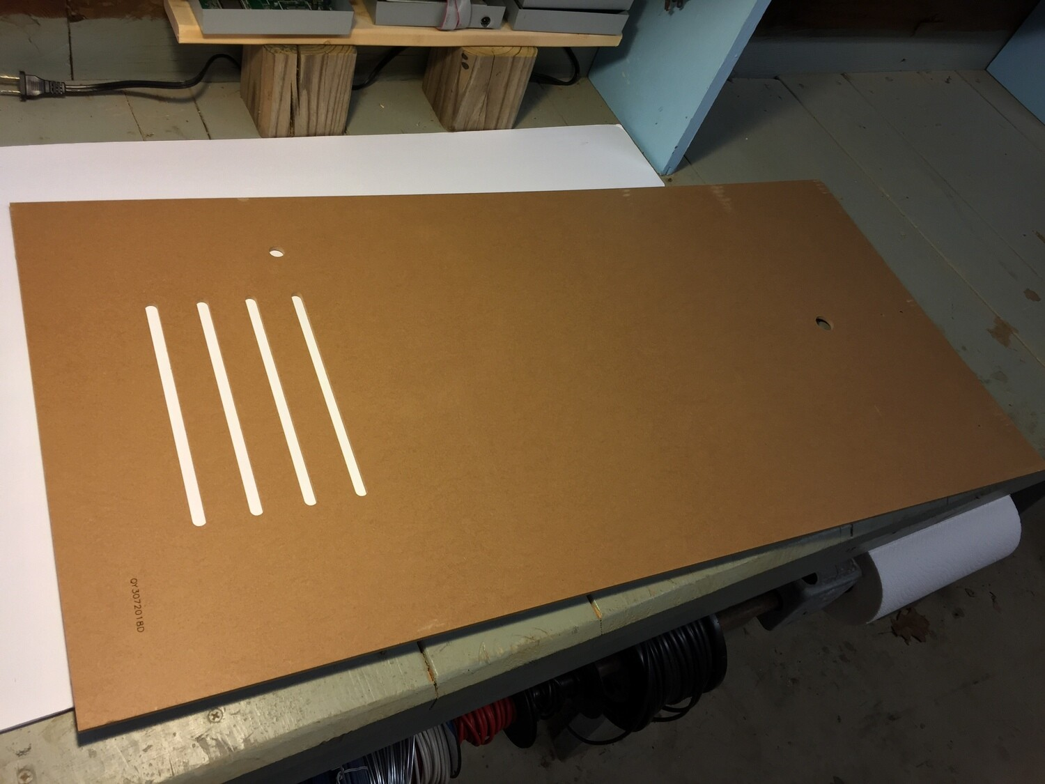 A1UP Rear Panel (PANEL F)