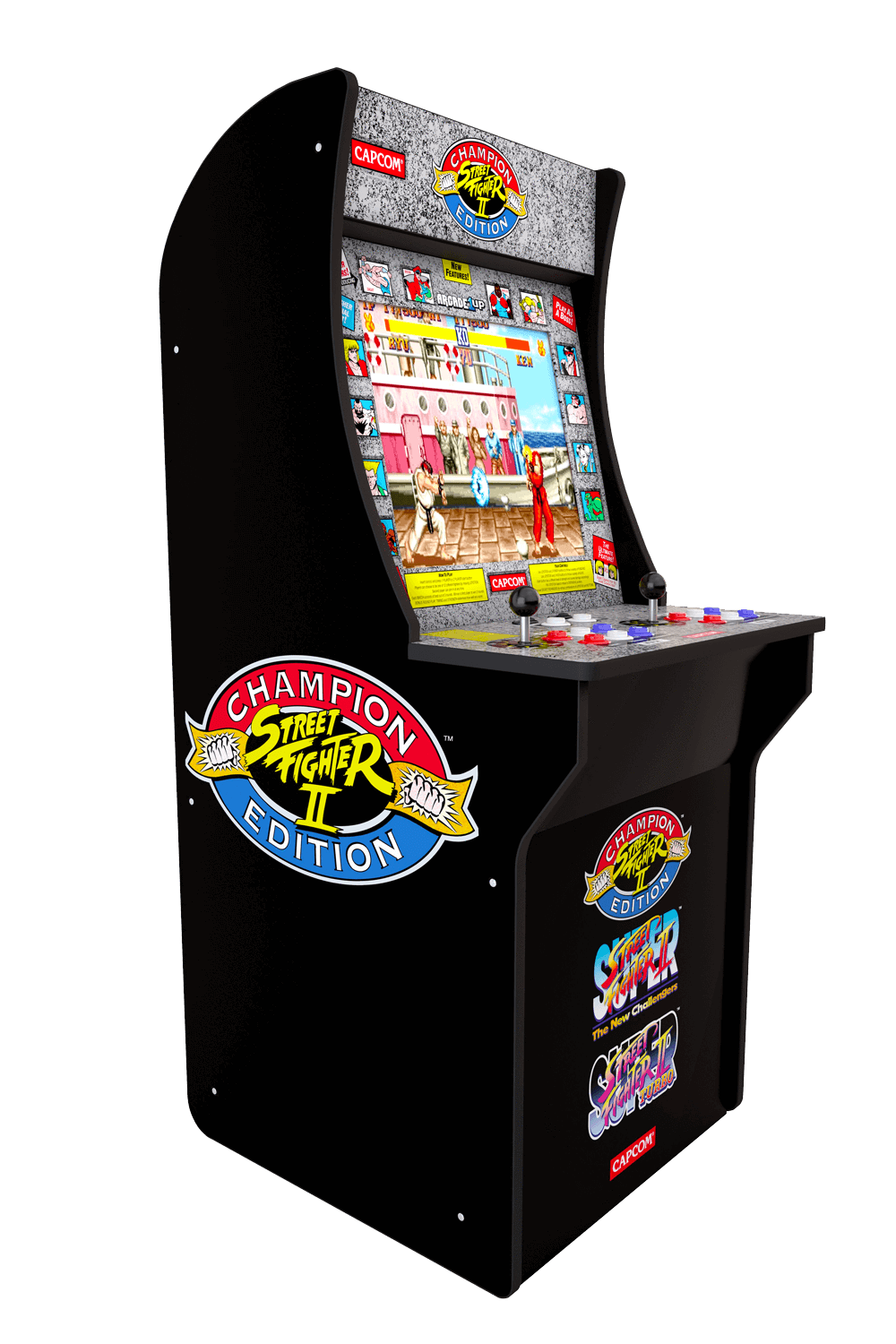 OFFICIAL Arcade1UP Street Fighter 2 Cabinet - NEW IN BOX